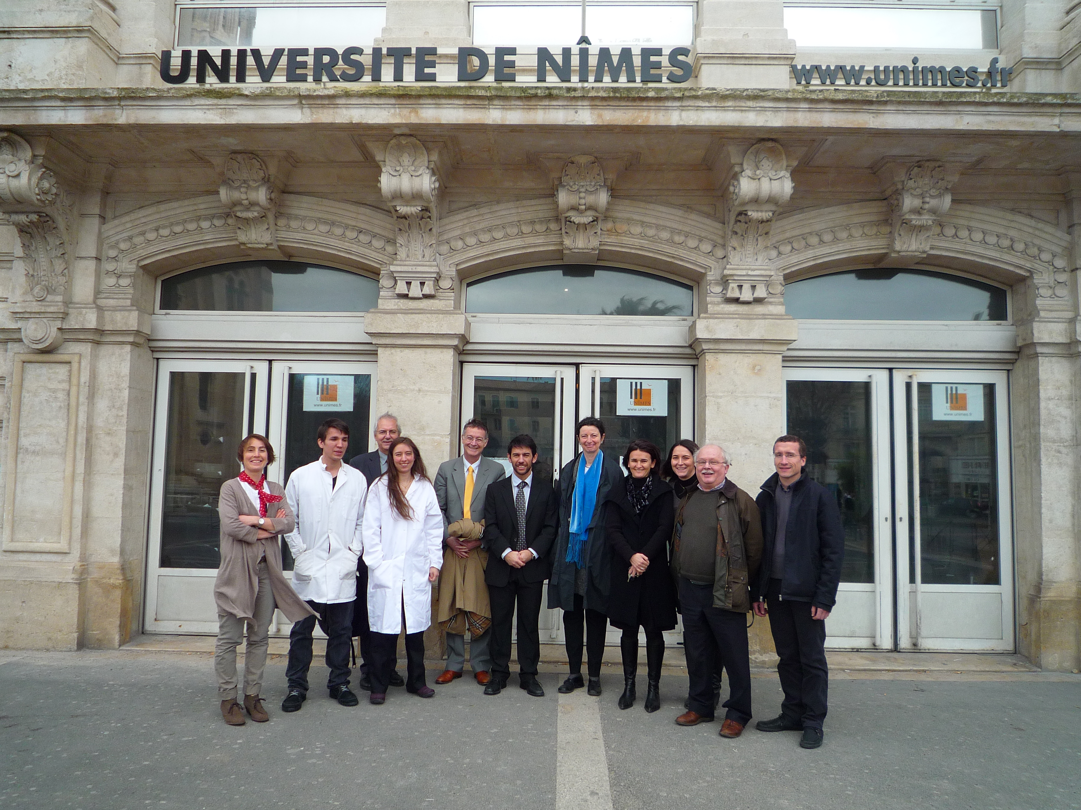 Inauguration de l antenne de n mes leres for Piscine aquatropic nimes